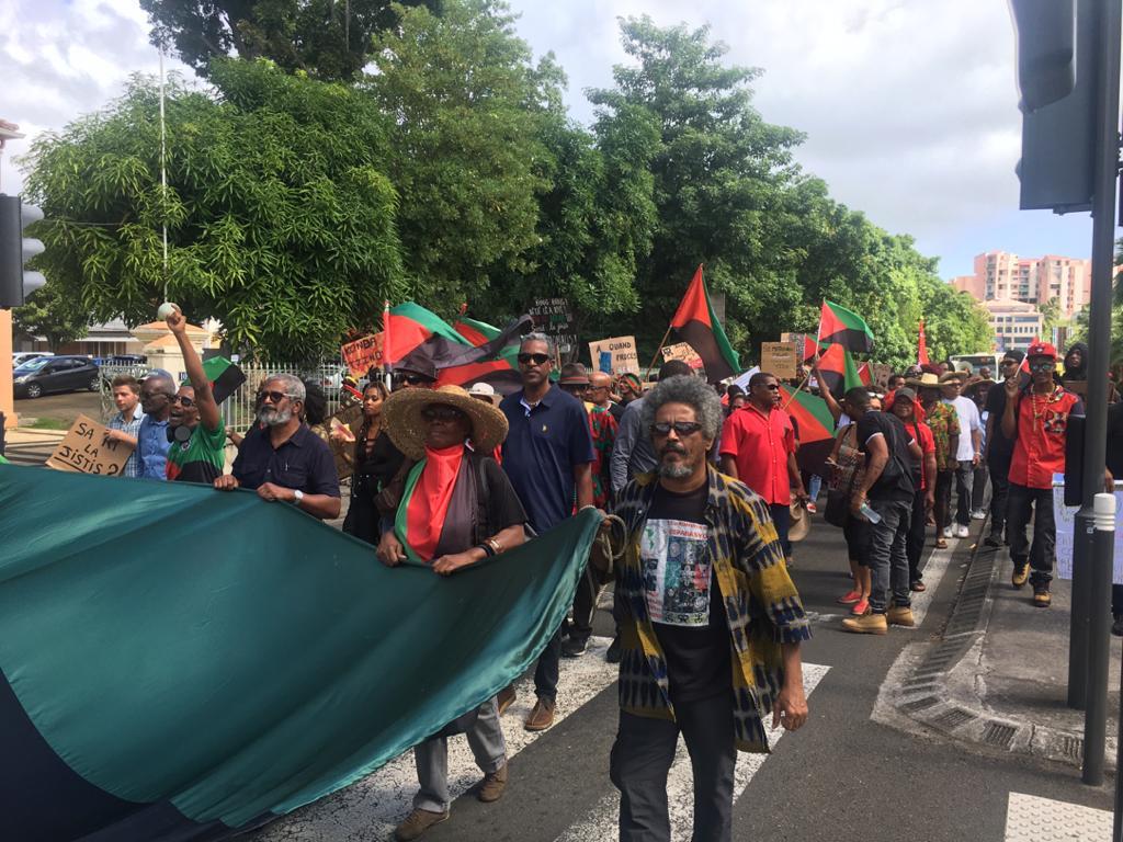 Des heurts émaillent la manifestation de soutien aux 7 militants anti-chlordécone