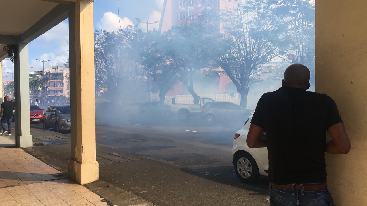 13 janvier 2020 : retour en vidéo sur les incidents survenus à Fort-de-France