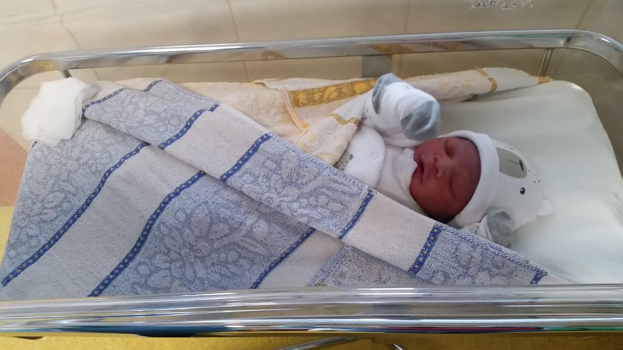 Maïwenn, 1er bébé de 2020
