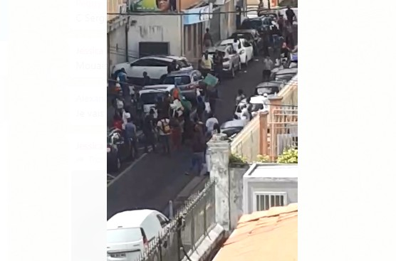 4 personnes interpellées à la suite des incidents à Fort-de-France
