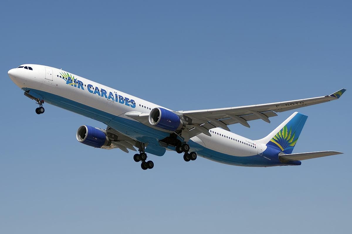 Courrier et denrées contre melons: un vol Air Caraïbes arrive avec du fret
