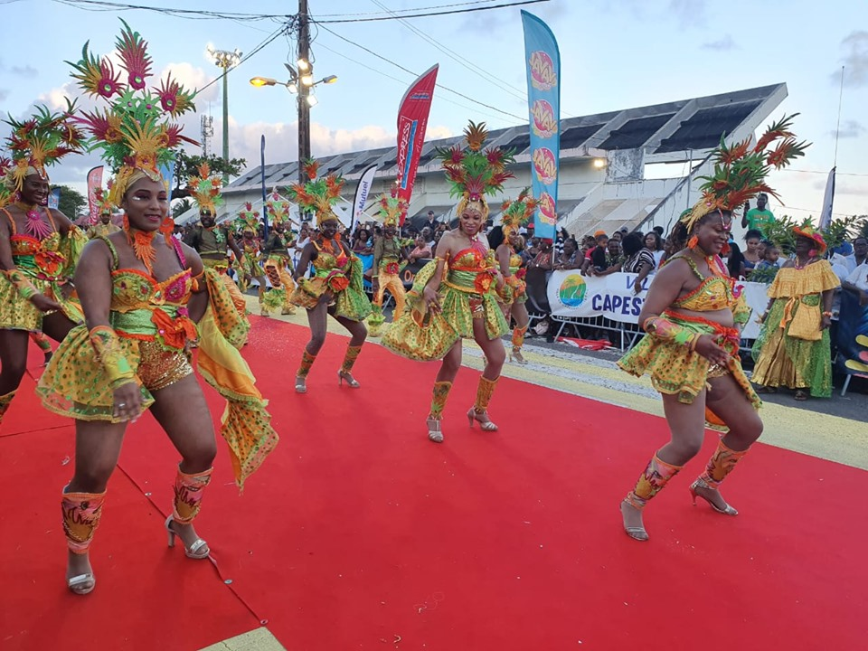 Record d'affluence au Kapes Kannaval 2020