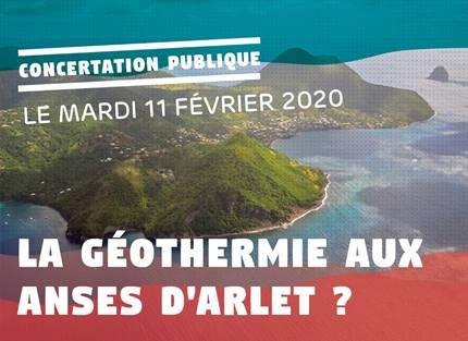 Un projet de géothermie aux Anses-d'Arlet. Une concertation publique lancée