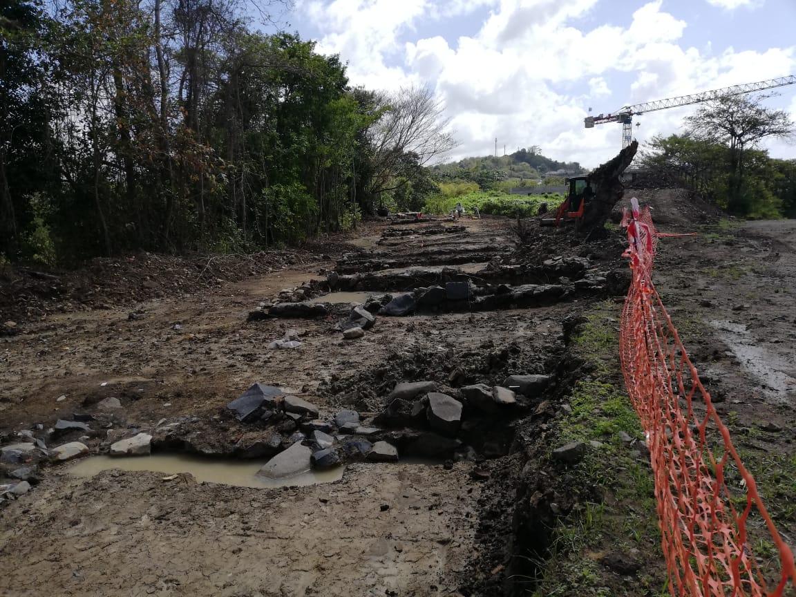 Le chantier du futur cinéma de Rivière-Salée voit se terminer des fouilles archéologiques