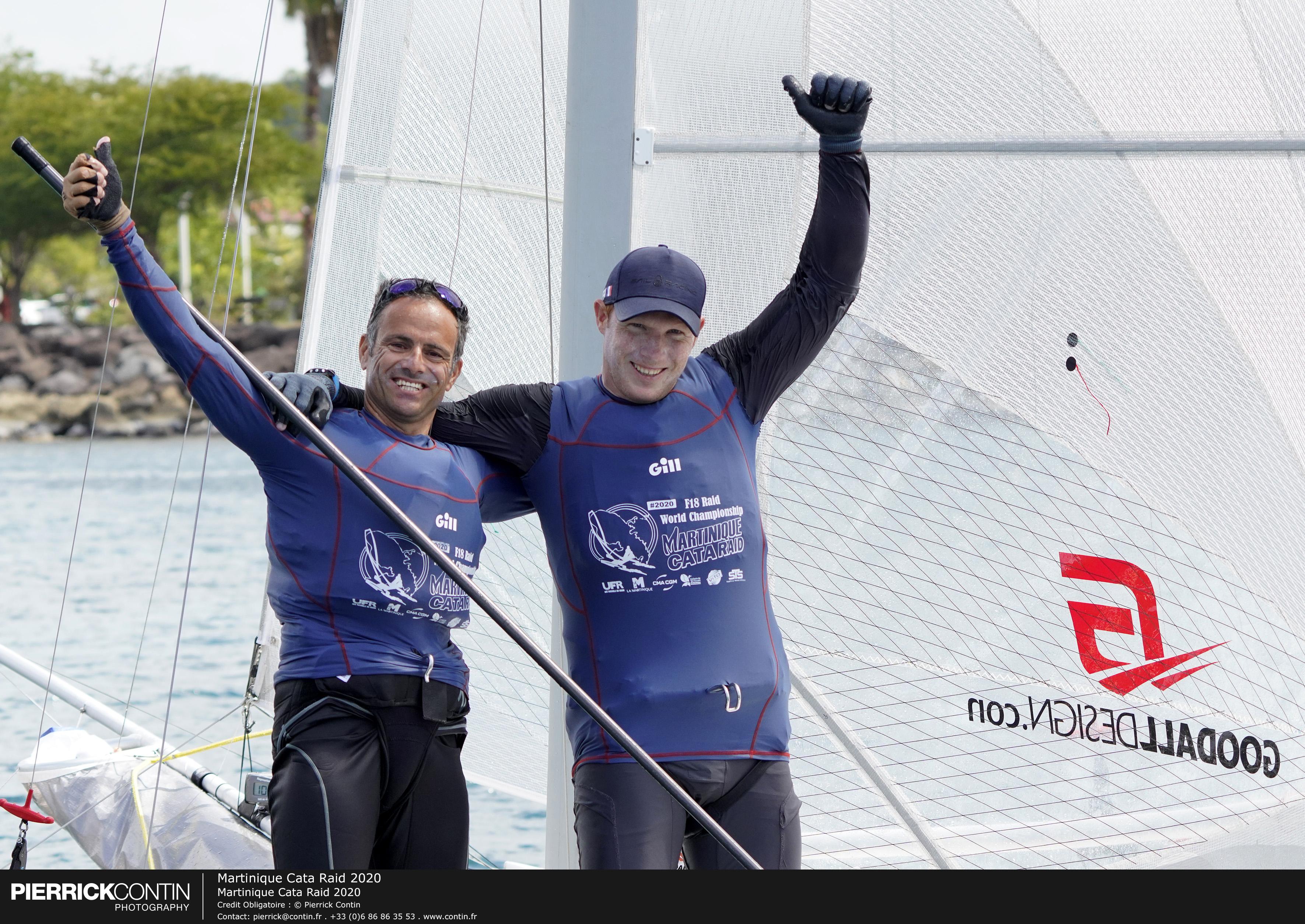 Franck Cammas et Mathieu Vandame remportent le Martinique Cata Raid 2020