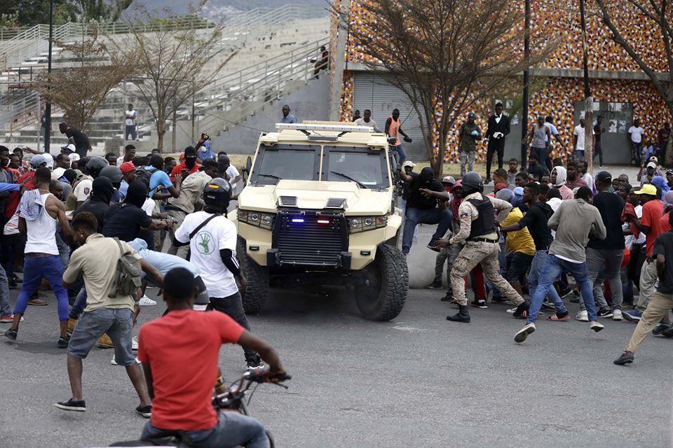 """Haïti actuellement dans un climat de """"guerre civile"""""""