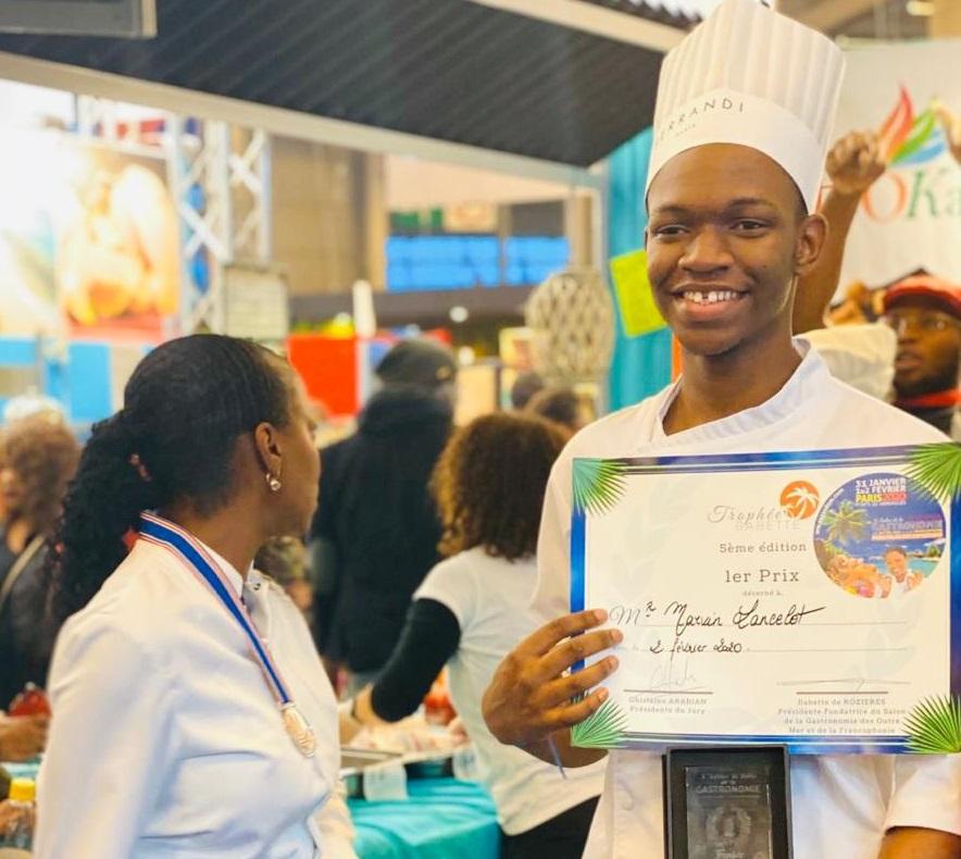 """Un marie-galantais remporte le """"Trophée Babette"""" au salon de la gastronomie"""