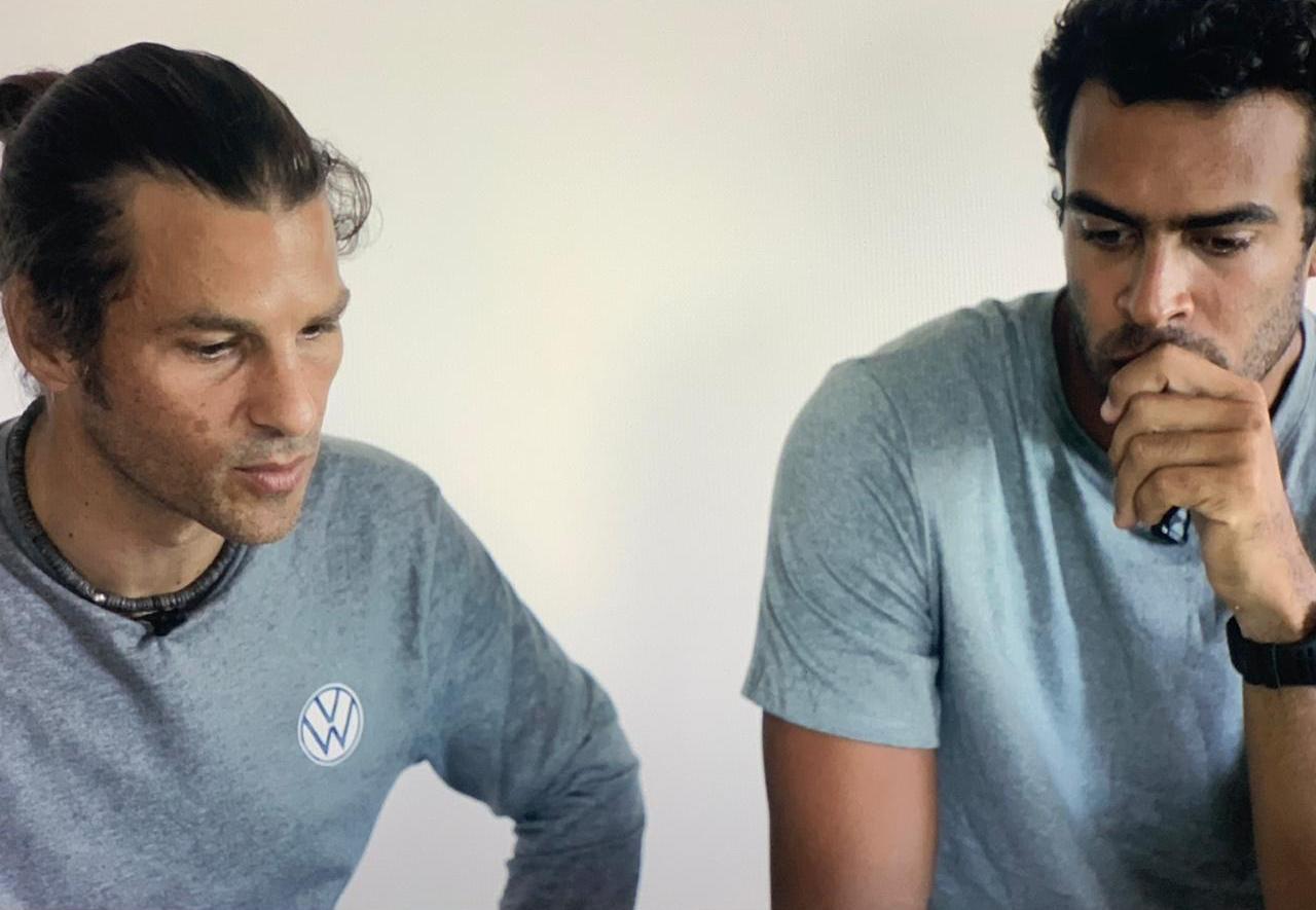 Deux guadeloupéens font le tour de la Guadeloupe en windsurf et kitesurf