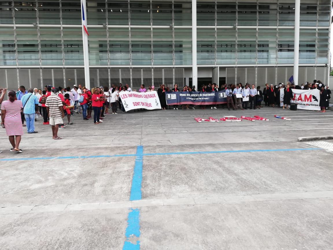 Les avocats de Martinique maintiennent leur mobilisation