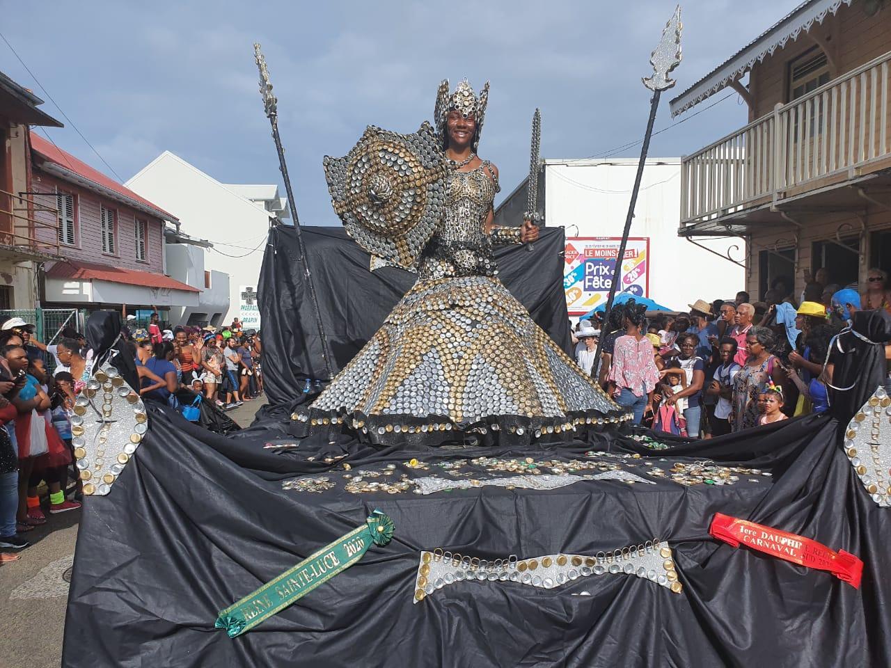 Le François a vibré au rythme du carnaval ce lundi gras