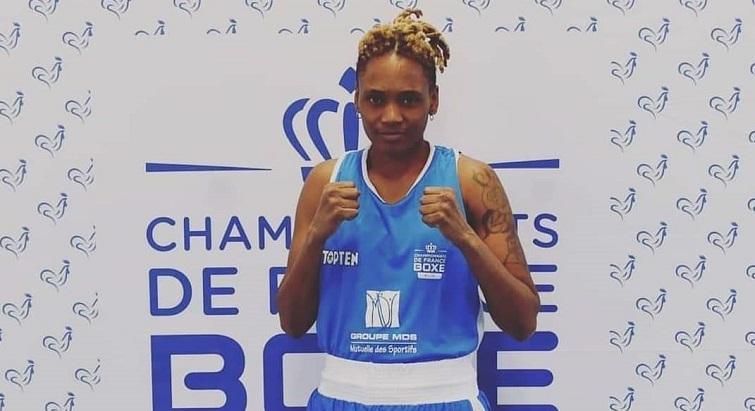 La Guadeloupéenne Fanny Galle est championne de France de boxe