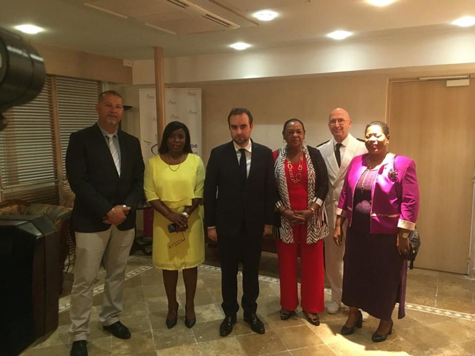 Sébastien Lecornu en visite en Guadeloupe