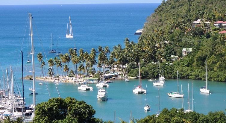 Sainte-Lucie, l'île des amoureux