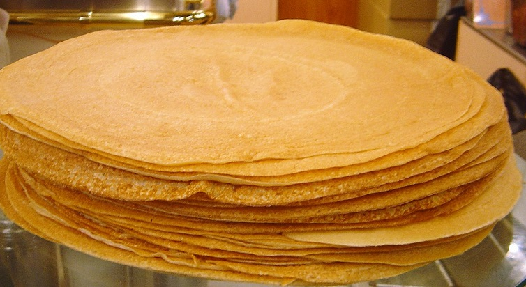 La recette des crêpes à la farine de fruit à pain