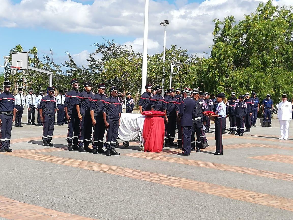 Le sapeur-pompier José Moutama, décédé en service, cité à l'ordre de la nation