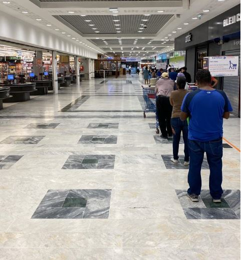 Coronavirus : des mesures strictes pour faire les courses