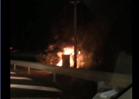 Trois radars routiers incendiés cette nuit en Martinique