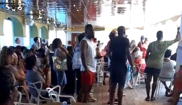 Tension extrême à bord du Costa Magica (vidéo)