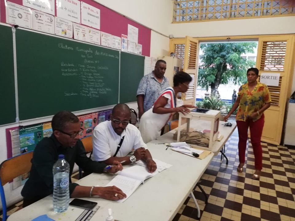 Les opérations de dépouillement ont débuté en Guadeloupe