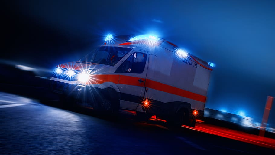 L'appel à l'aide des ambulanciers