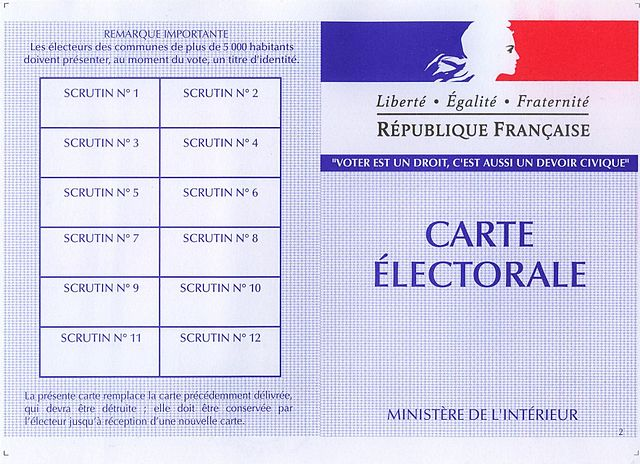 Municipales 2020: 47,7 millions d'électeurs inscrits en France