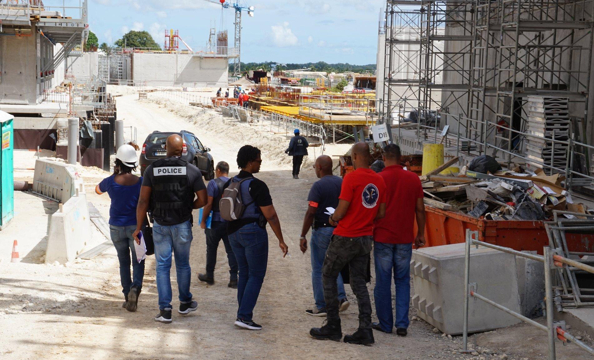 Le travail illégal contrôlé sur le chantier du nouveau CHU