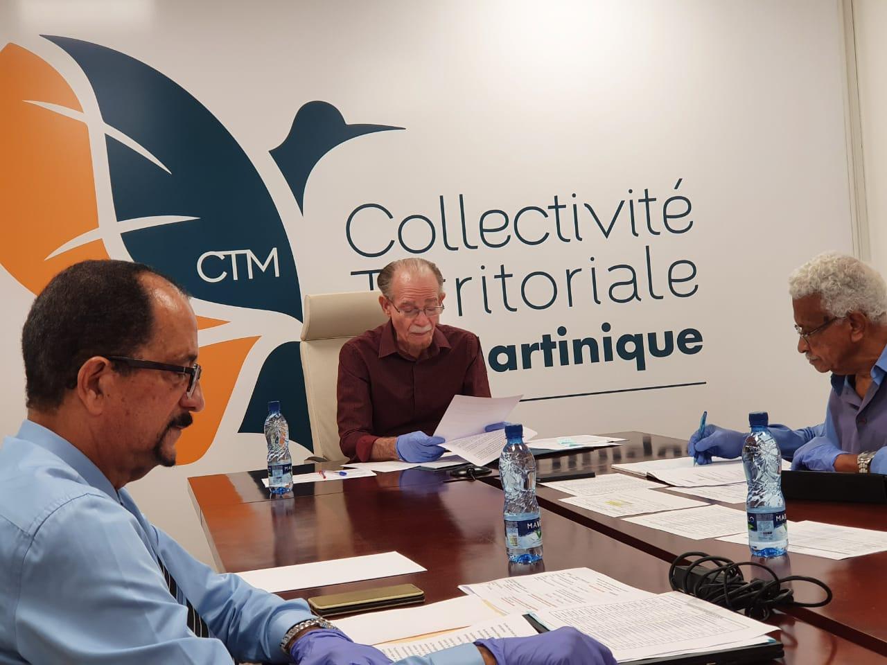 LA CTM réunit les maires et lance un appel à projet pour la fabrication de masque