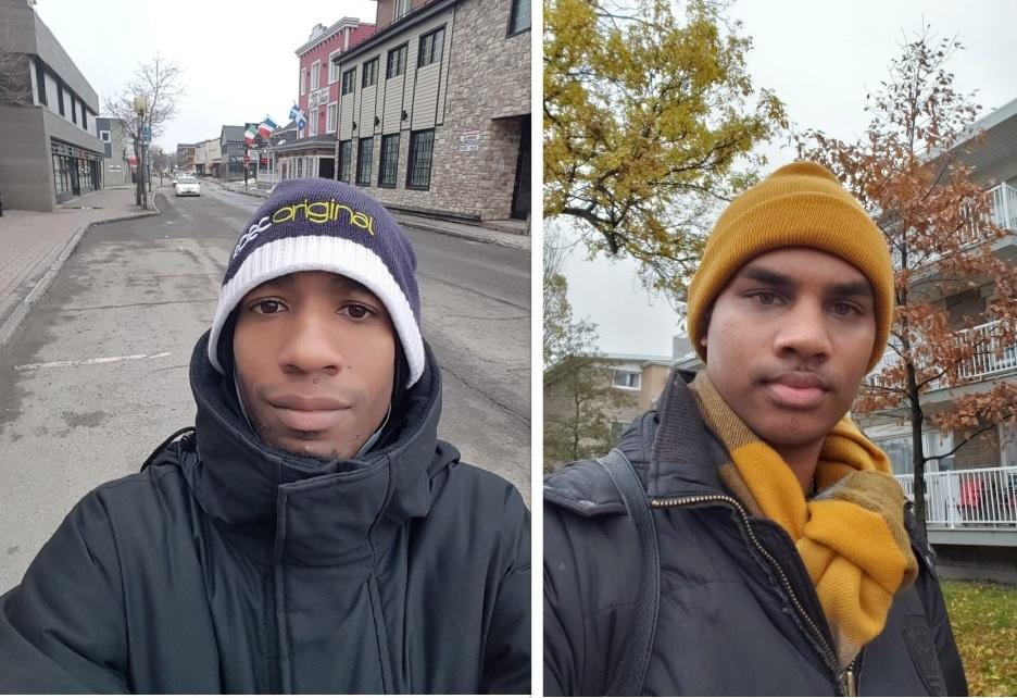 Jonathan et Luidgy : jeunes guadeloupéens confinés au Canada