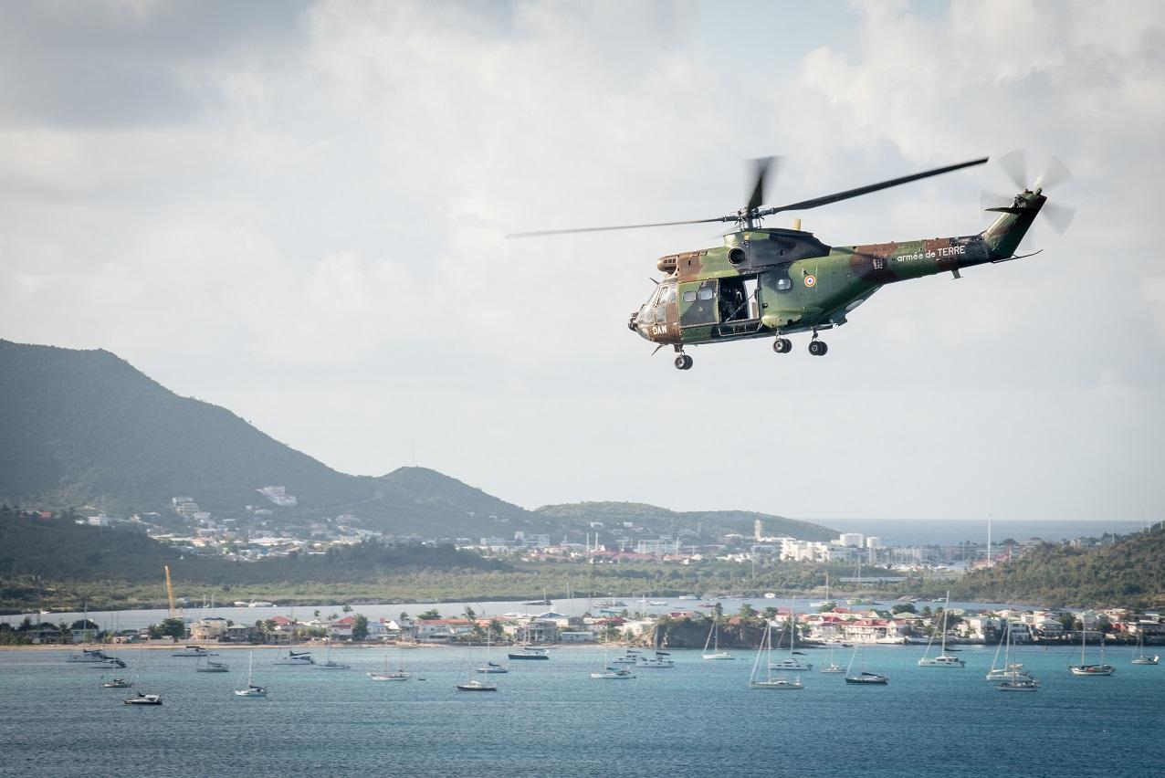 Un malade du Covid-19 évacué en urgence vers la Martinique