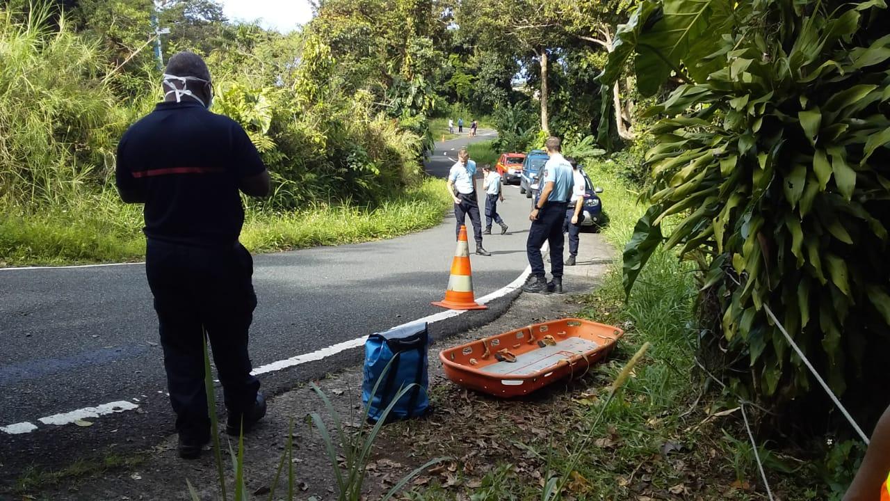 Le corps retrouvé à la Soufrière correspondrait à celui d'un disparu