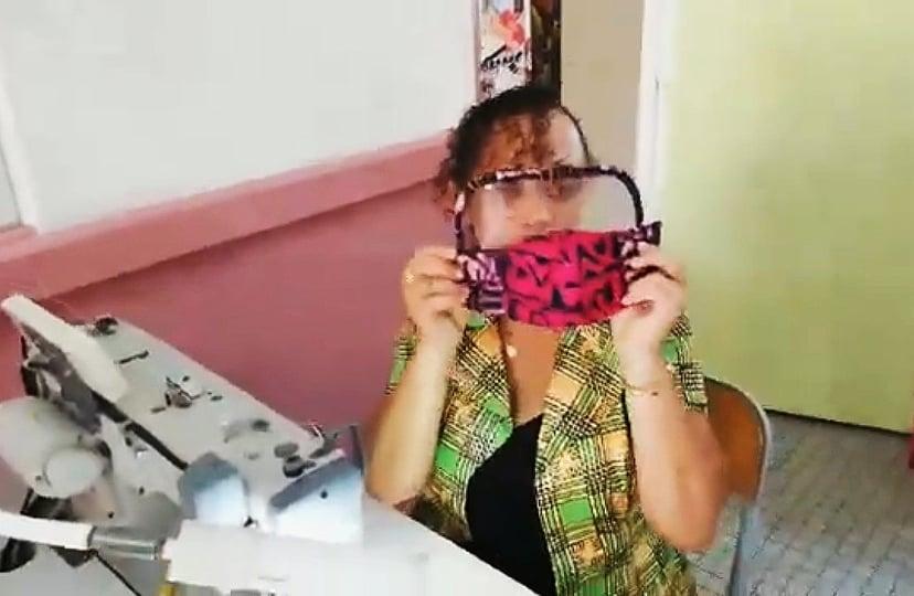 Le LPO Chevalier de Saint-Georges fabrique des masques pour le public fragile