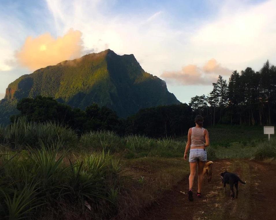 Pauline : guadeloupéenne confinée en Polynésie