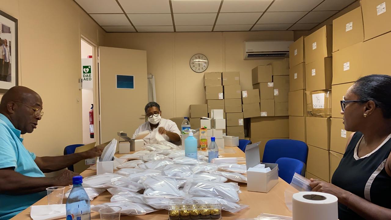 Les infirmières libérales reçoivent une dotation de 80 000 masques