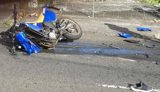 Un motard grièvement blessé dans un accident à Fort de France