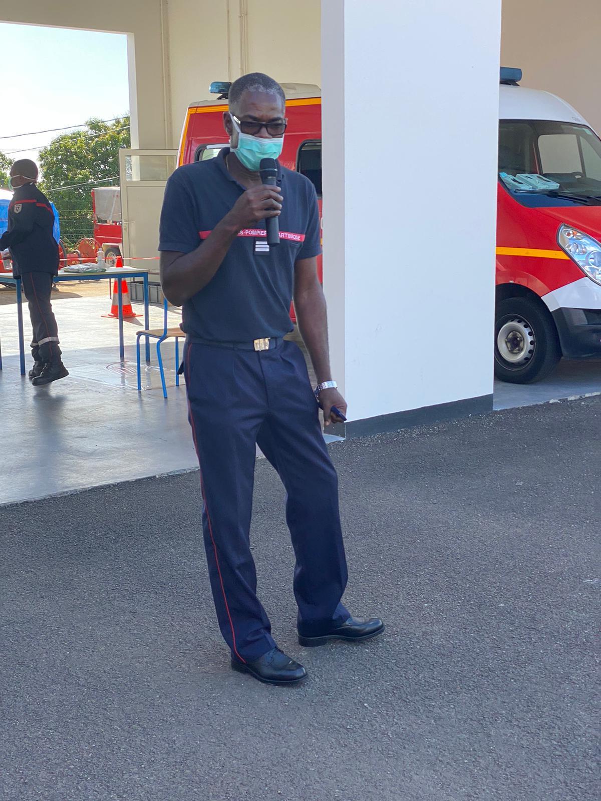 Le dispositif des pompiers pour faire face au COVID-19