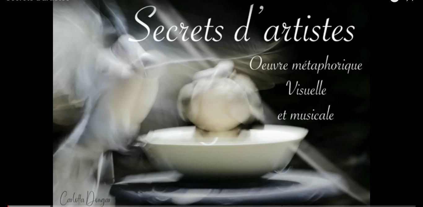 Découvrez « Secrets d'artistes »