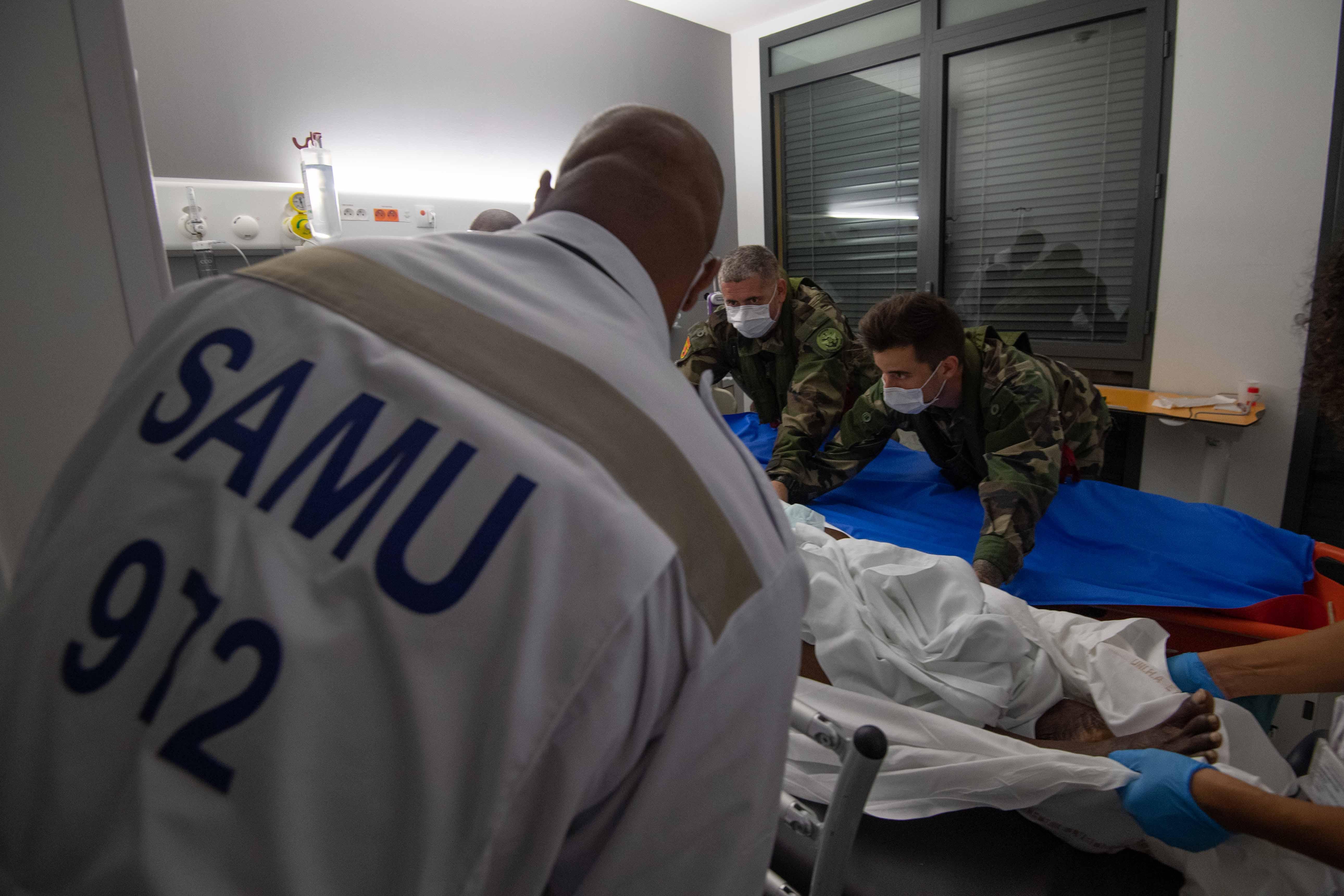 Double évacuation sanitaire entre la Guadeloupe et la Martinique