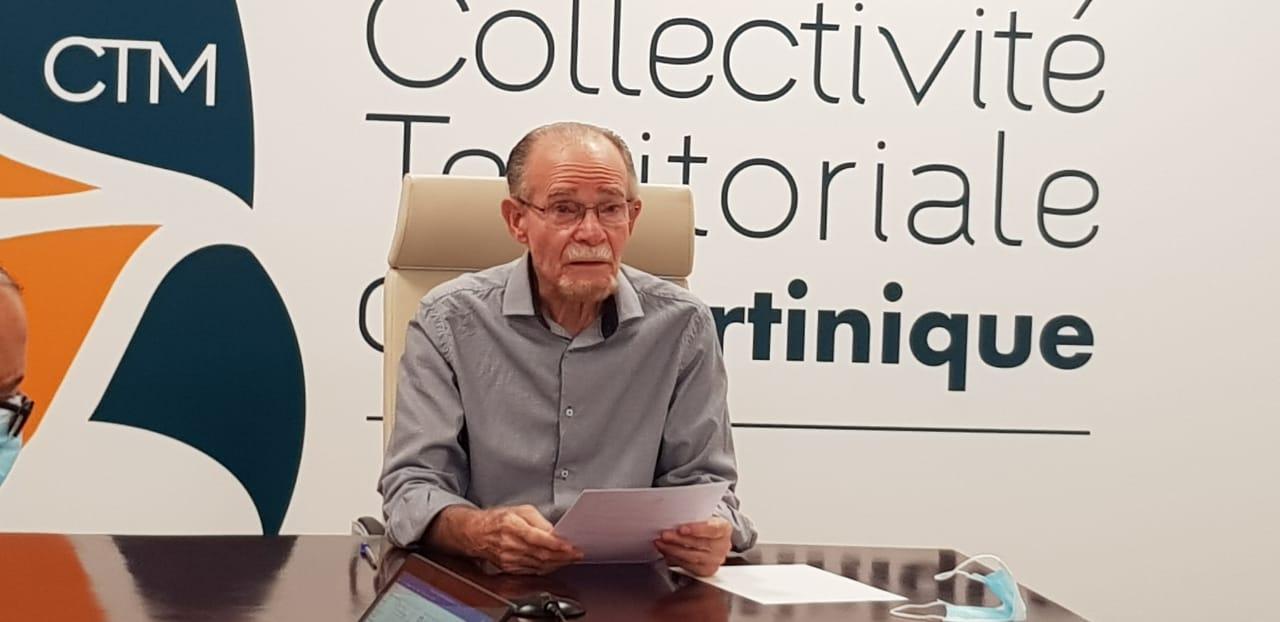 Séguineau : Alfred Marie-Jeanne réaffirme qu'il n'exécutera pas la délibération de l'Assemblée