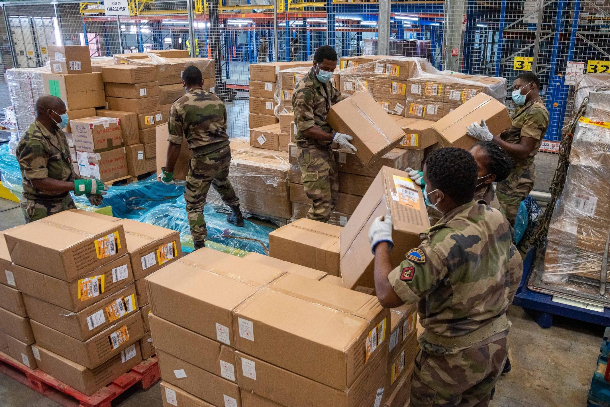 Les forces armées aux Antilles mobilisées pour le déconfinement