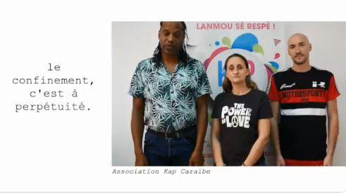 L'association Kap Caraïbe participe à un clip pour la journée mondiale de lutte contre l'homophobie