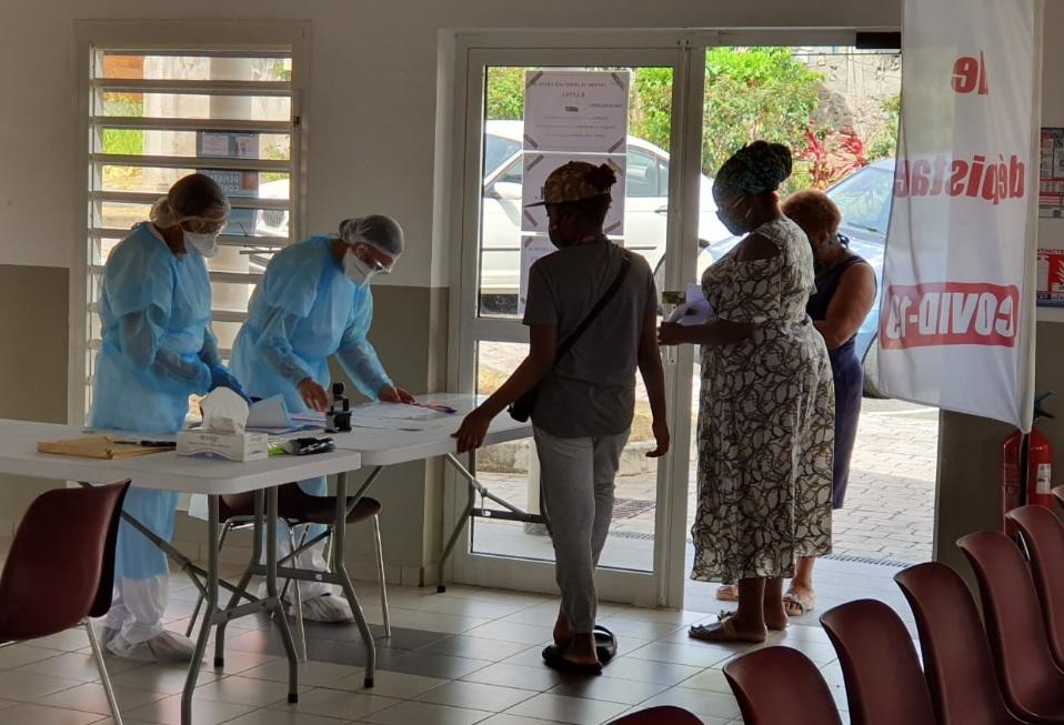 Un centre de dépistage au Carmel à Basse-Terre