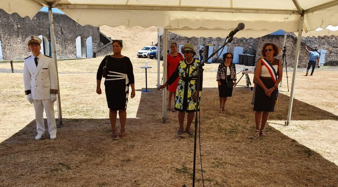 Cérémonie officielle du 27 mai au Fort Delgrès