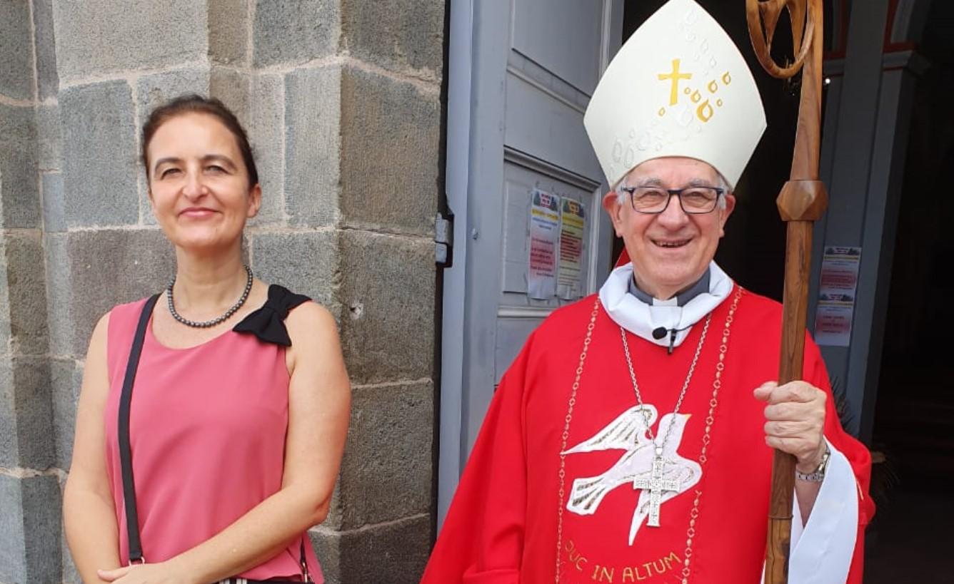 La messe de Pentecôte avec Monseigneur Riocreux
