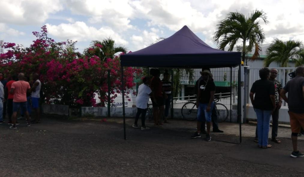 Mouvement de protestation à la Société Pharmaceutique Antillaise