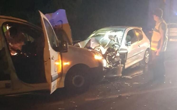 Grave accident de la route à Ducos