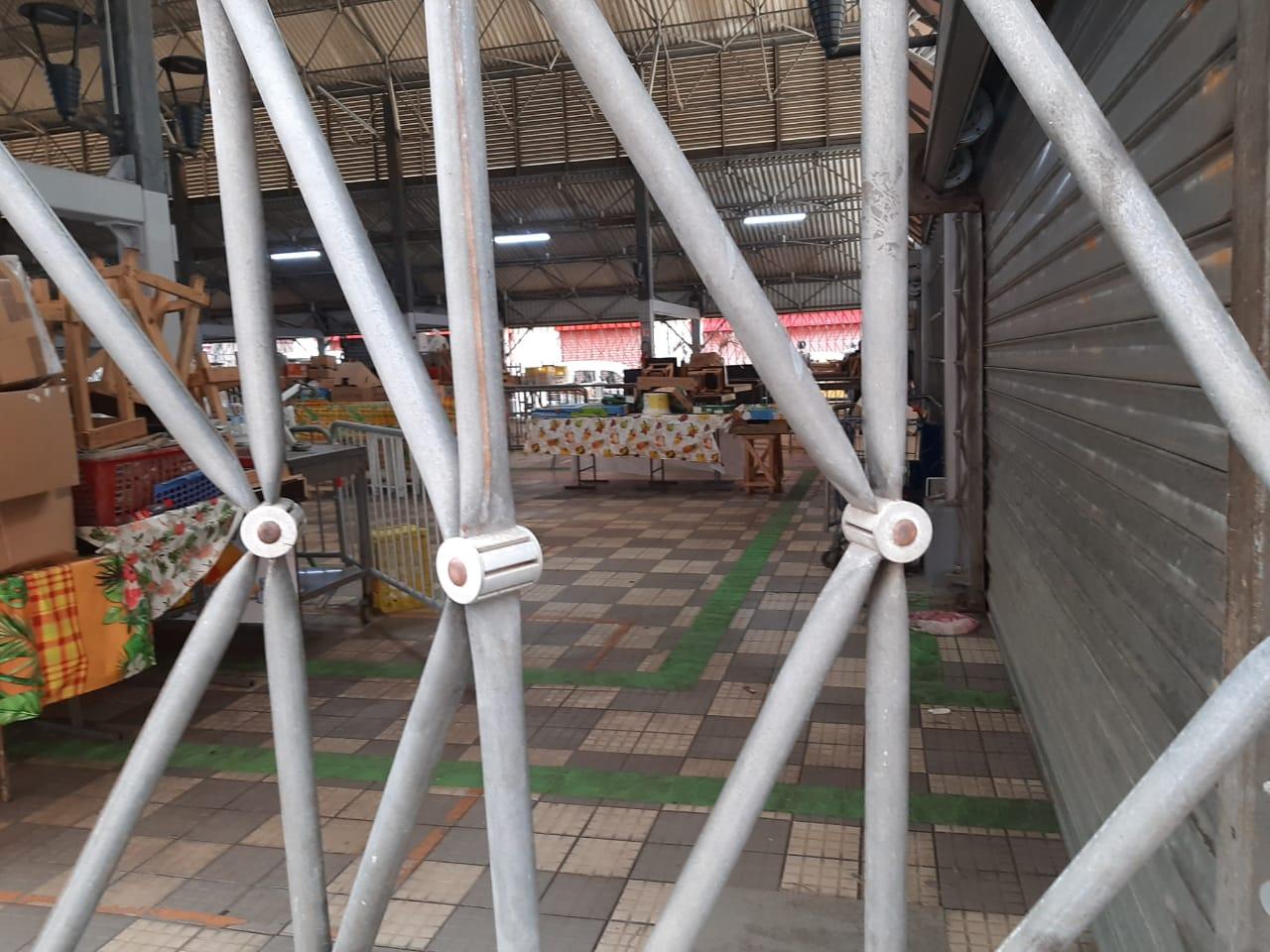 Déconfinement : le grand marché de Fort-de-France n'est pas encore prêt à recevoir le public