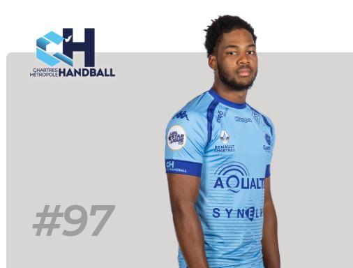 Un martiniquais élu meilleur jeune de l'élite du handball français