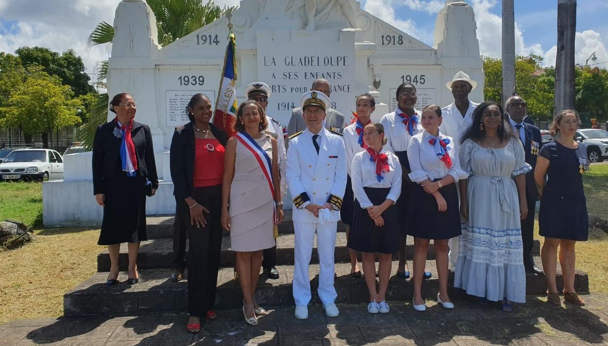 L'appel du 18 juin également commémoré en Guadeloupe