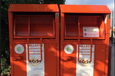 Bornes de l'ACISE: la collecte de vêtements reprend le 3 août