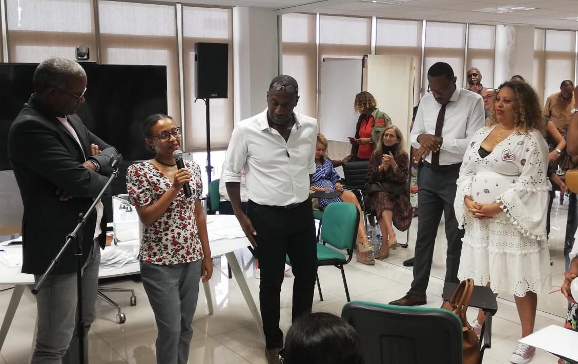 Maître Tania Bangou, élue future bâtonnière des avocats